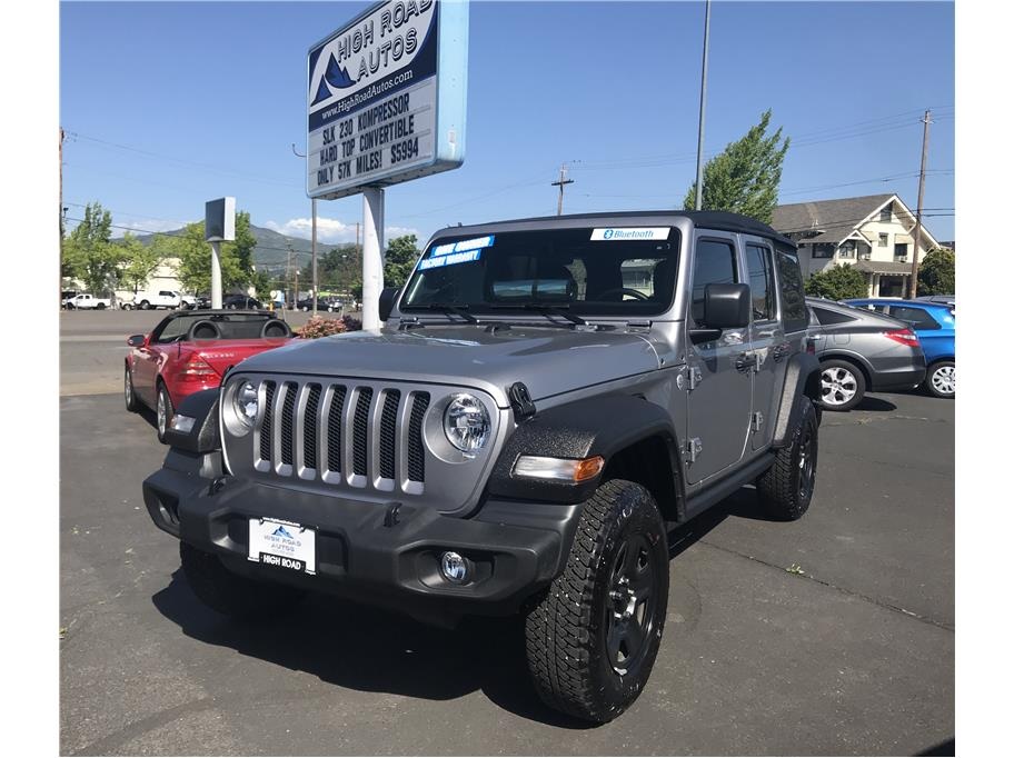 2018 Jeep Wrangler Unlimited from High Road Autos