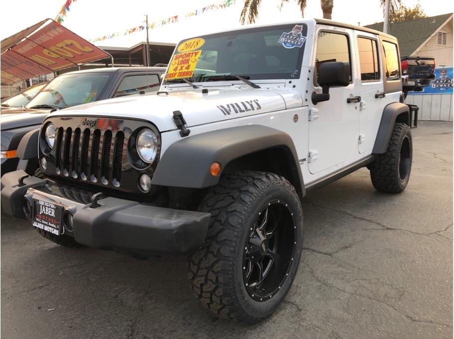 2018 Jeep Wrangler Unlimited from Jaber Motors