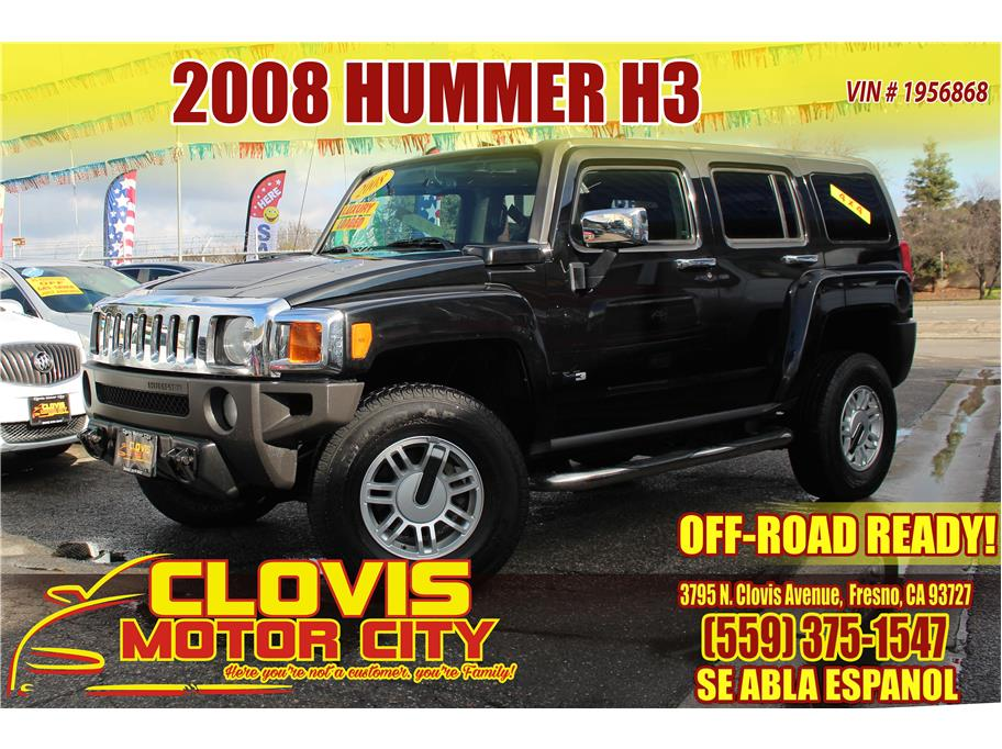 2008 HUMMER H3 from Clovis Motor City