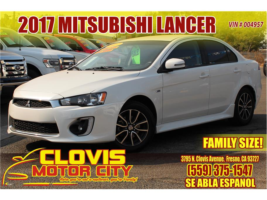2017 Mitsubishi Lancer from Clovis Motor City