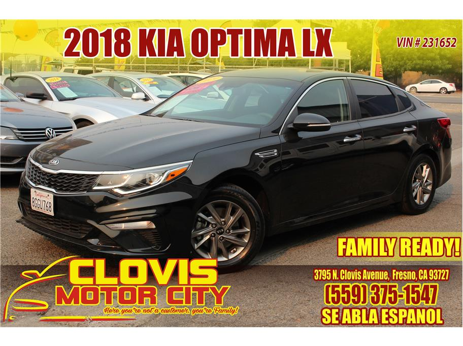 2018 Kia Optima from Clovis Motor City