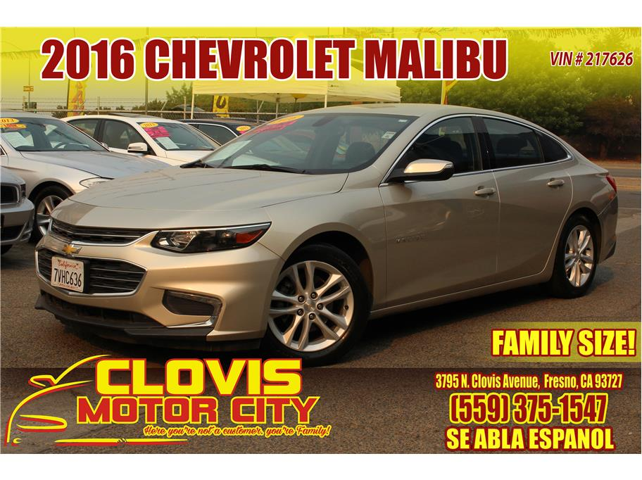 2016 Chevrolet Malibu from Clovis Motor City