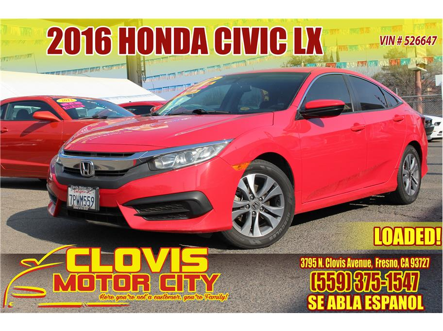 2016 Honda Civic from Clovis Motor City