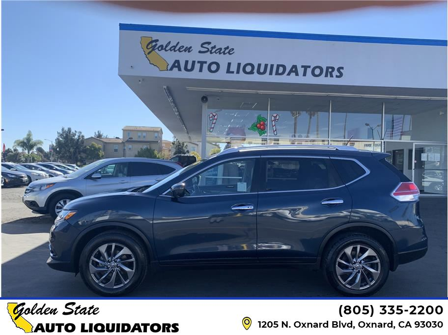 2016 Nissan Rogue from Golden State Auto Liquidators