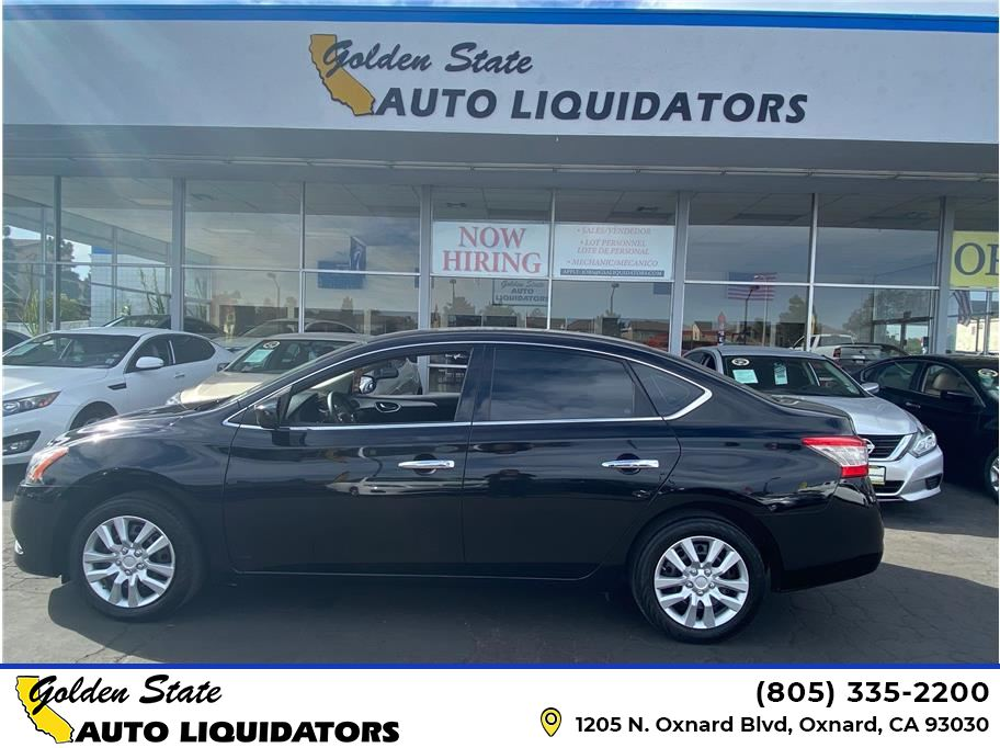 2015 Nissan Sentra from Golden State Auto Liquidators