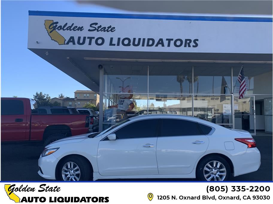 2016 Nissan Altima from Golden State Auto Liquidators