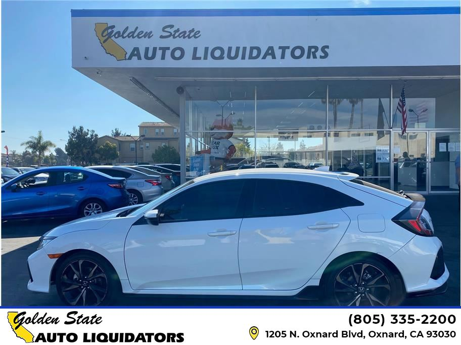 2017 Honda Civic from Golden State Auto Liquidators