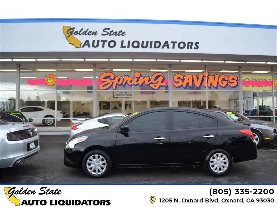 2018 Nissan Versa from Golden State Auto Liquidators
