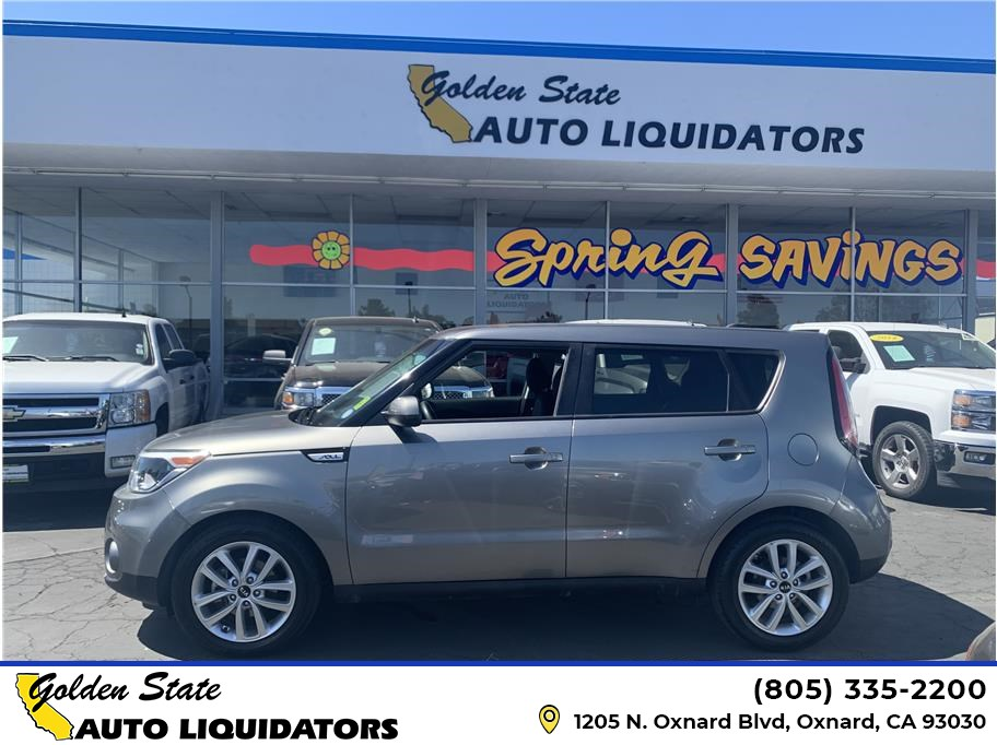 2017 Kia Soul from Golden State Auto Liquidators