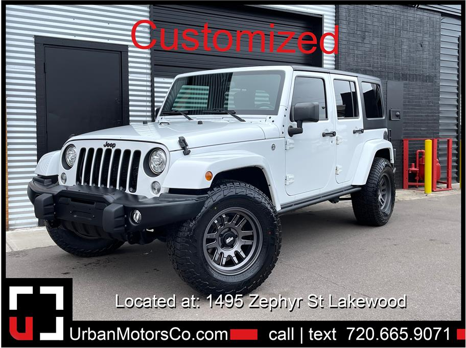 2017 Jeep Wrangler Unlimited from Urban Motors 3