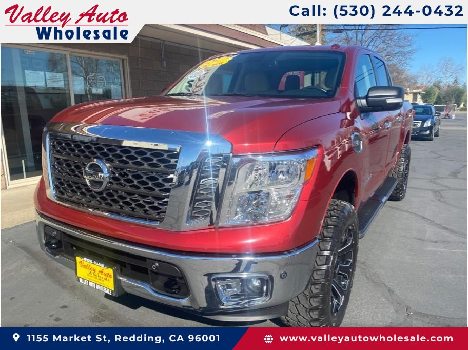 2017 Nissan Titan Crew Cab from Valley Auto Wholesale Inc.