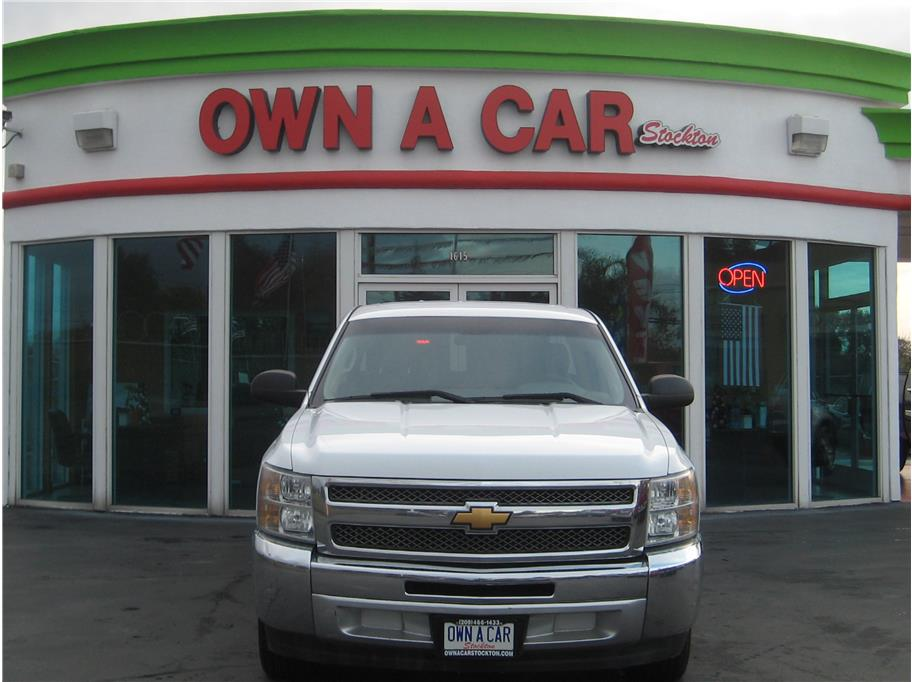 2012 Chevrolet Silverado 1500 Extended Cab from OWN A CAR stockton