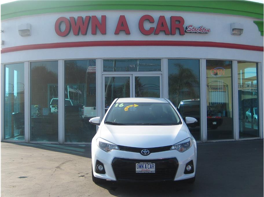2016 Toyota Corolla from OWN A CAR stockton