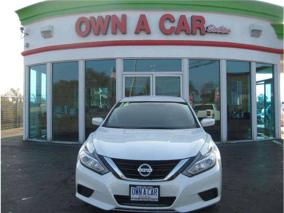 2016 Nissan Altima from OWN A CAR stockton