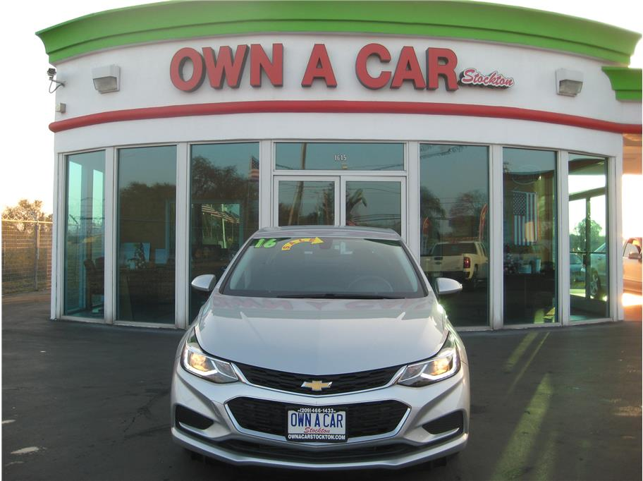 2016 Chevrolet Cruze from OWN A CAR stockton