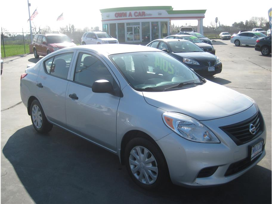 2014 Nissan Versa from OWN A CAR stockton