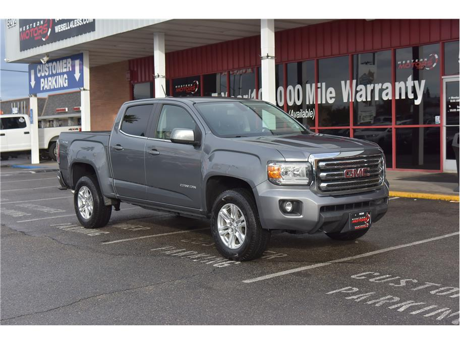 2019 GMC Canyon Crew Cab from KALEL, INC. DBA WESTERN MOTORS/AIDE RENT-A-CAR