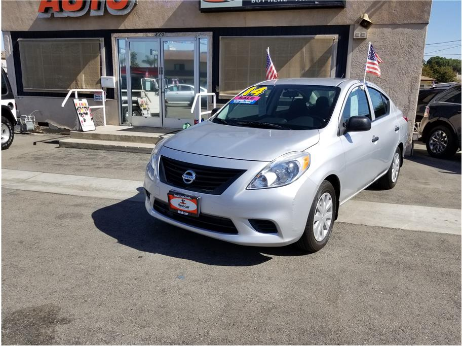 2014 Nissan Versa from First Car