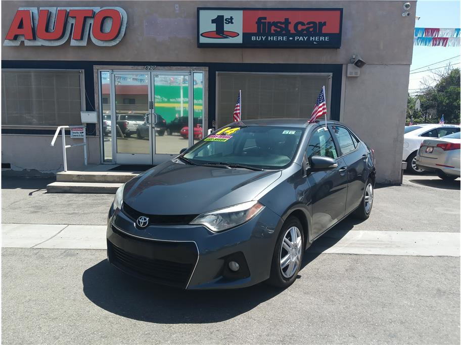2014 Toyota Corolla from First Car