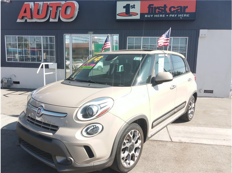 2014 Fiat 500L from First Car