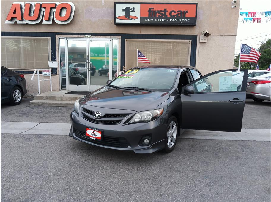 2013 Toyota Corolla from First Car