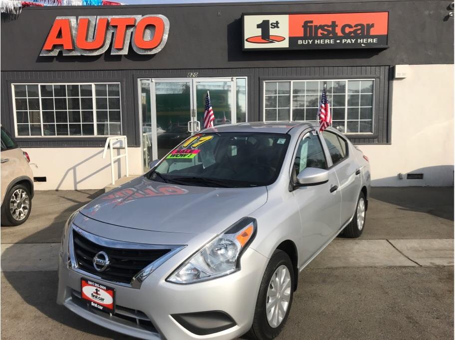 2017 Nissan Versa from First Car