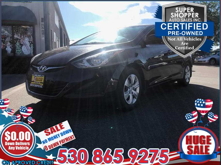2016 Hyundai Elantra from Super Shopper Auto Sales Inc