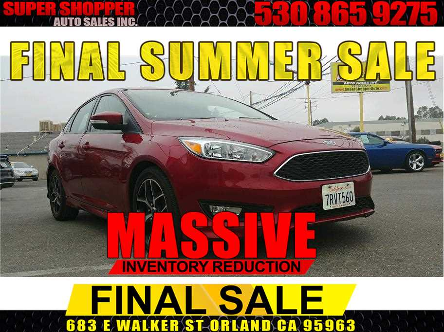 2015 Ford Focus from Super Shopper Auto Sales Inc