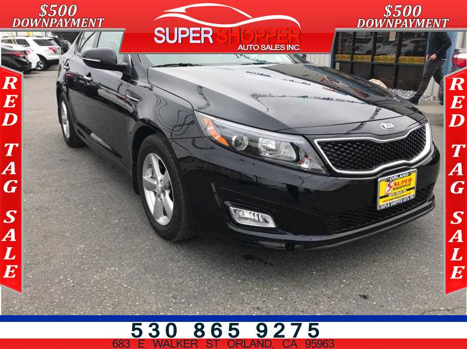 2015 Kia Optima from Super Shopper Auto Sales Inc