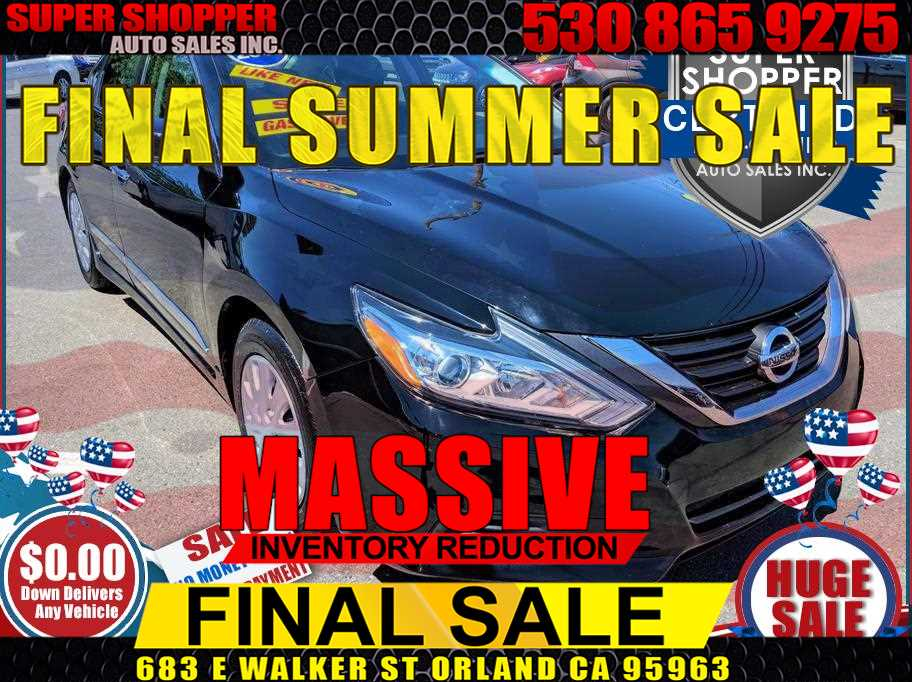 2016 Nissan Altima from Super Shopper Auto Sales Inc
