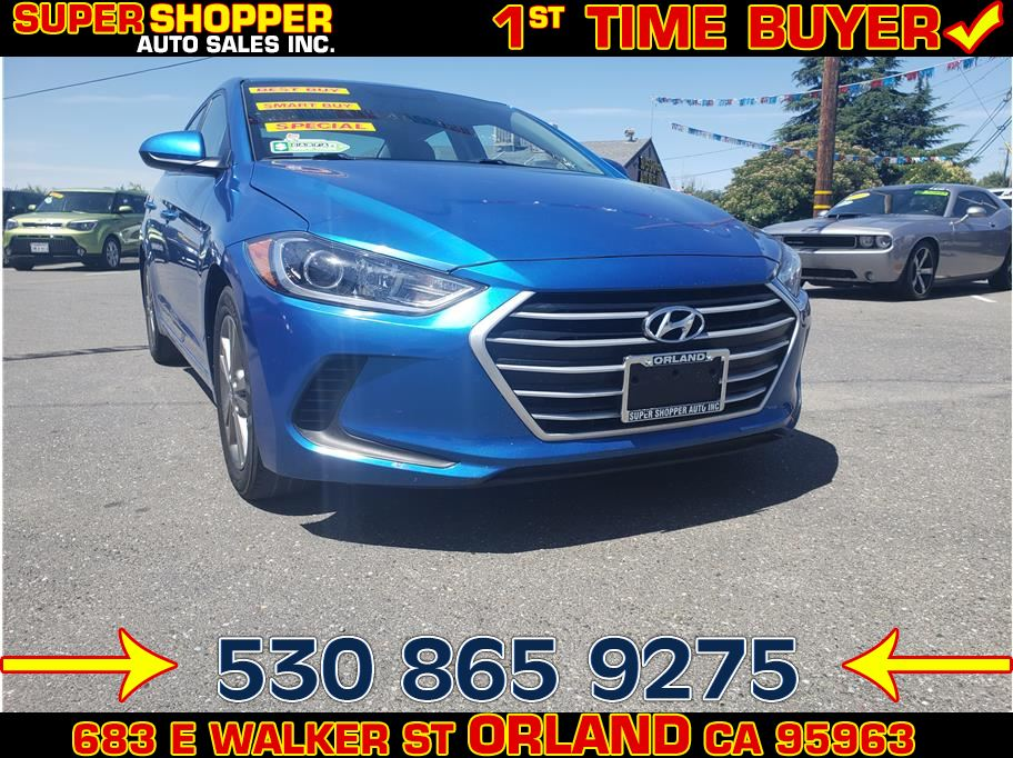 2018 Hyundai Elantra from Super Shopper Auto Sales Inc