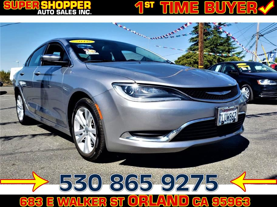 2016 Chrysler 200 from Super Shopper Auto Sales Inc