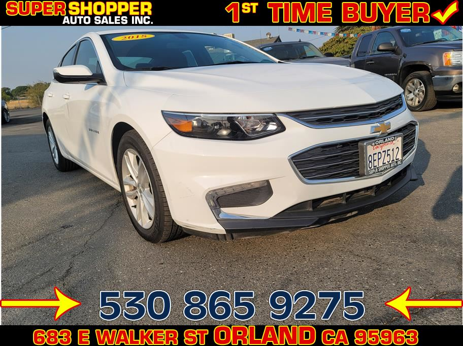 2018 Chevrolet Malibu from Super Shopper Auto Sales Inc