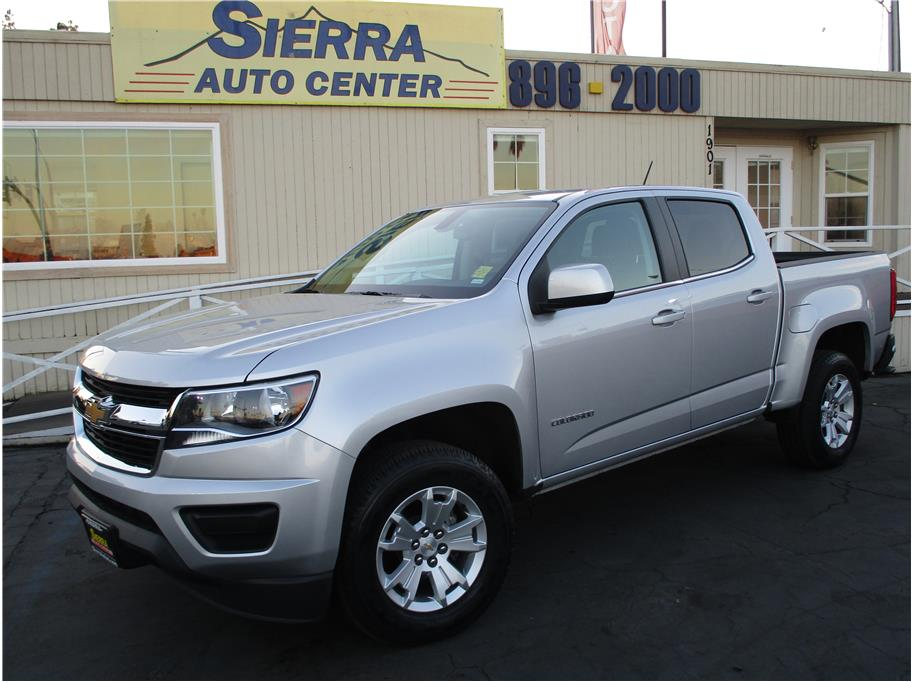 2018 Chevrolet Colorado Crew Cab from Sierra Auto Center