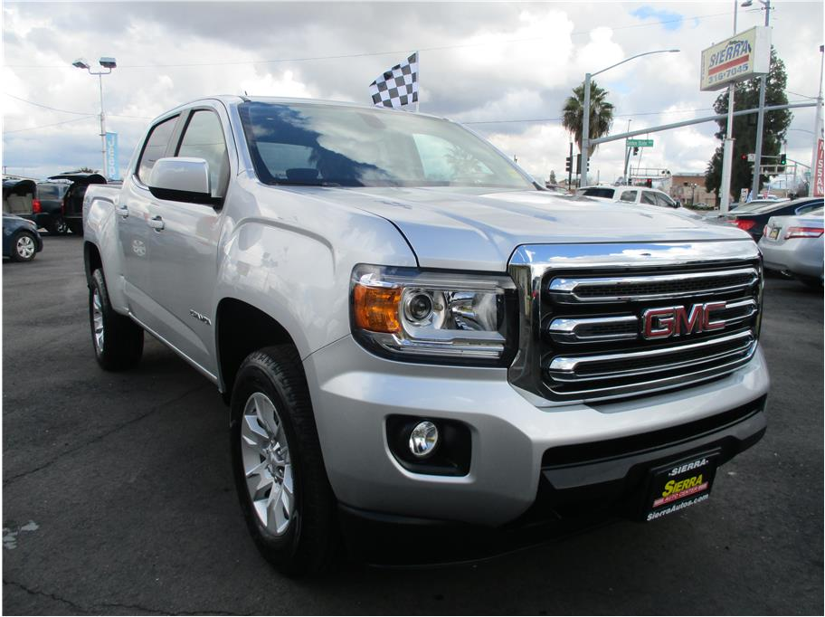 2018 GMC Canyon Crew Cab from Sierra Auto Center Fowler