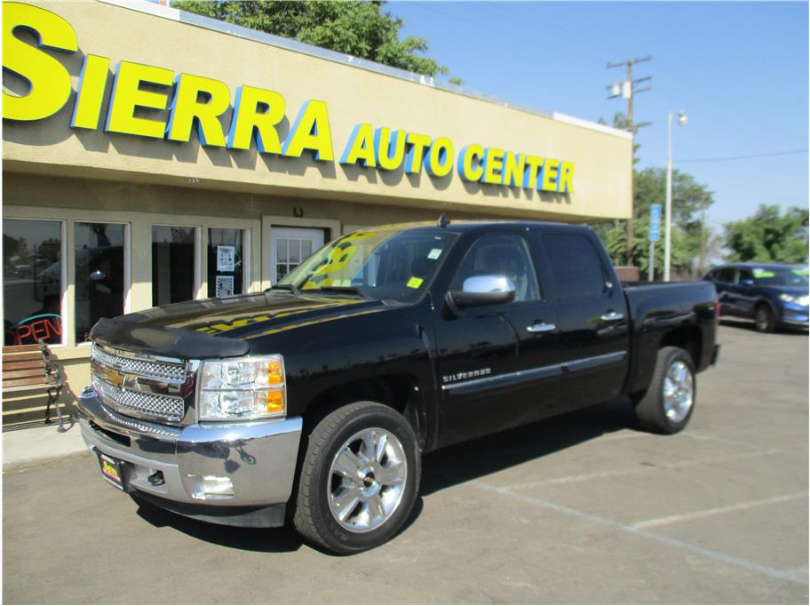2012 Chevrolet Silverado 1500 Crew Cab from Sierra Auto Center Fowler