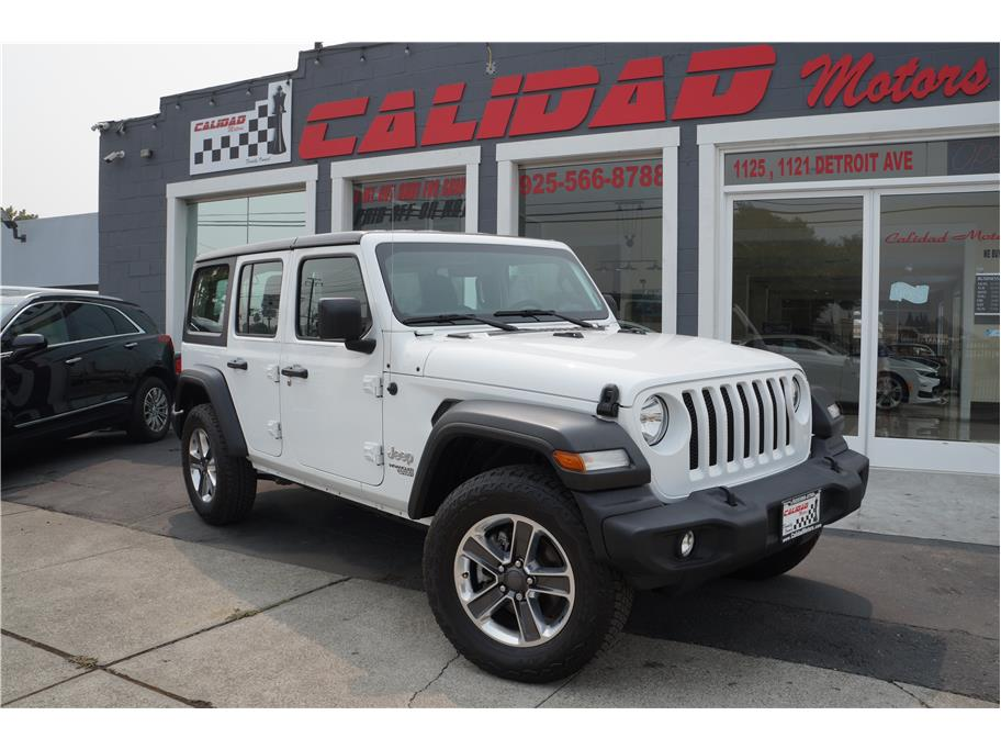 2019 Jeep Wrangler Unlimited from Calidad Motors, Inc.
