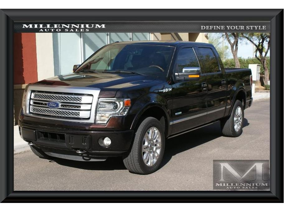 2014 Ford F150 SuperCrew Cab from Millennium Auto Sales