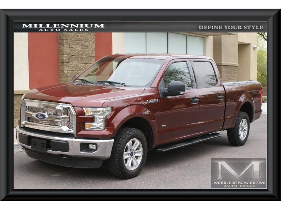 2015 Ford F150 SuperCrew Cab