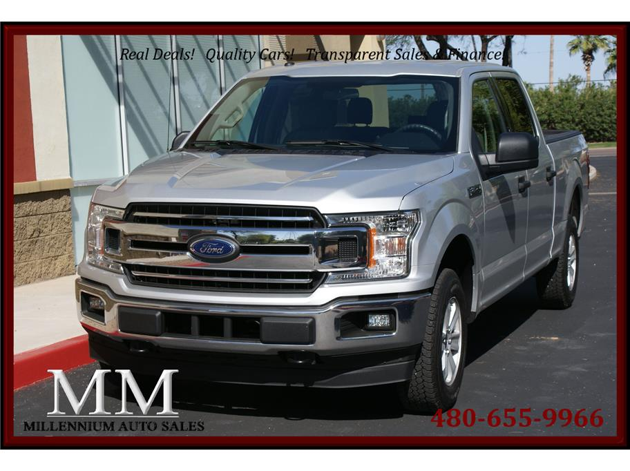 2018 Ford F150 SuperCrew Cab from Millennium Auto Sales