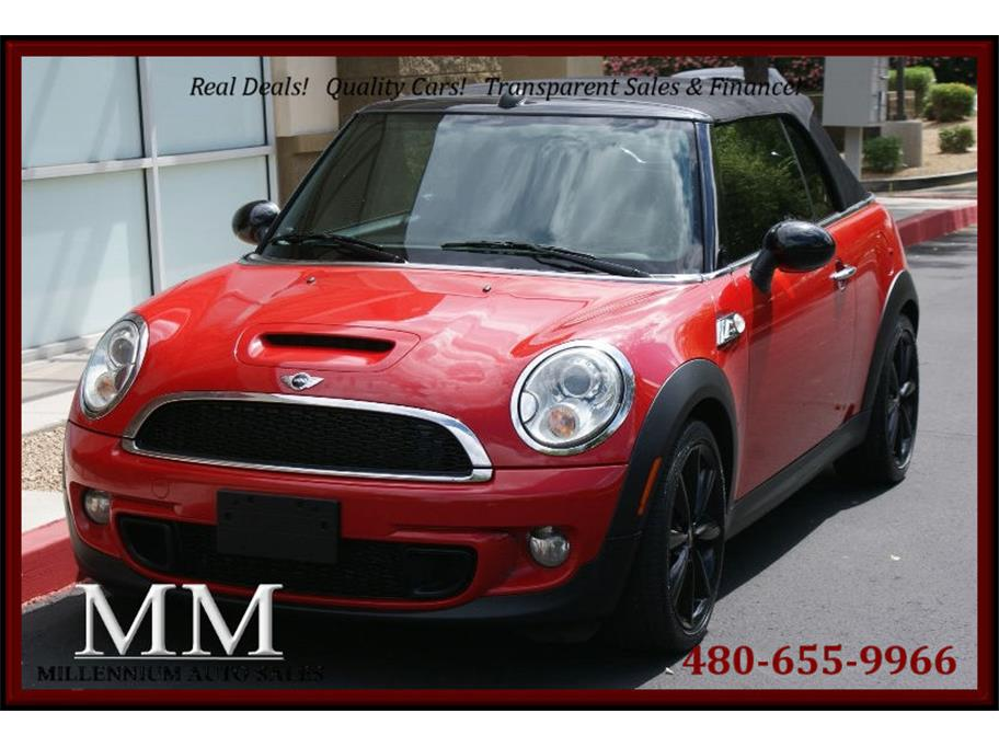 2012 MINI Convertible from Millennium Auto Sales