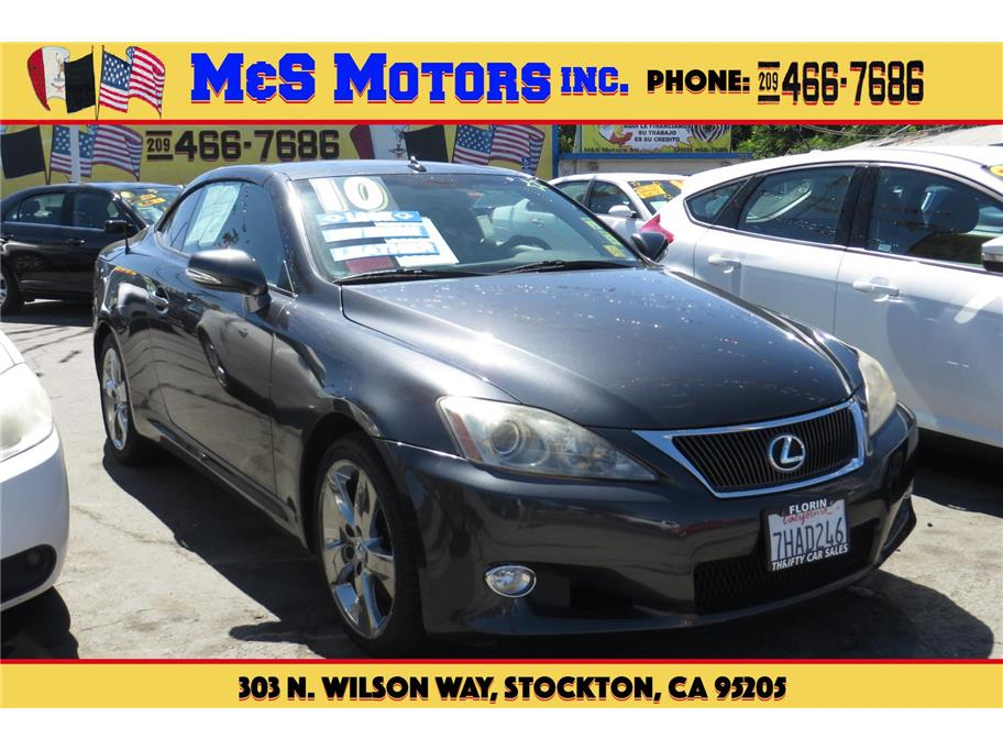 2010 Lexus IS from M & S Motors