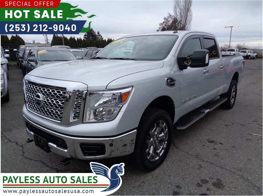 2018 Nissan TITAN XD Crew Cab from Payless Auto Sales II