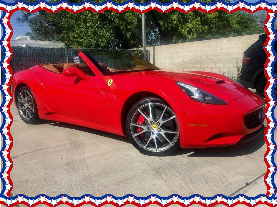 2010 Ferrari California from Thoroughbred Motors