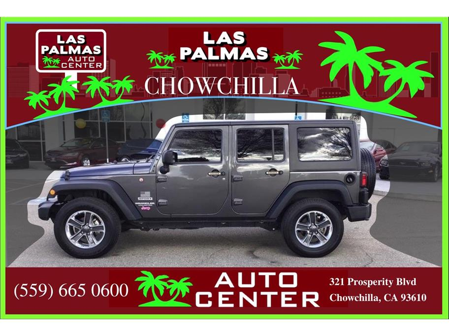 2017 Jeep Wrangler Unlimited from Las Palmas Auto Center