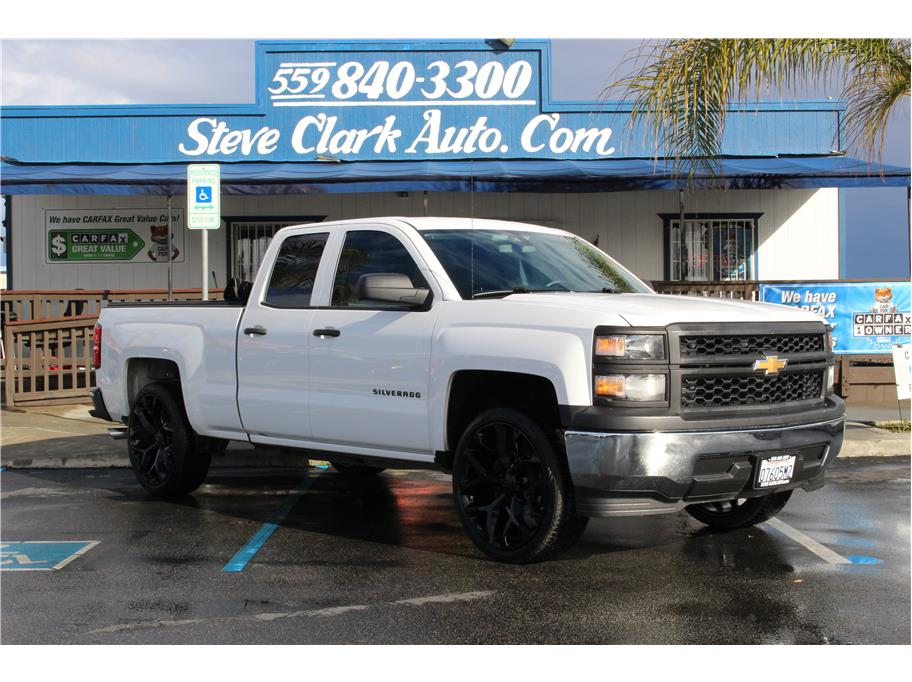 2014 Chevrolet Silverado 1500 Double Cab from Steve Clark Auto Sales