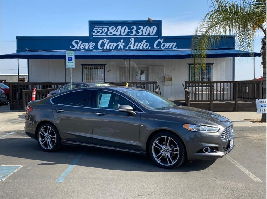 2016 Ford Fusion from Steve Clark Auto Sales