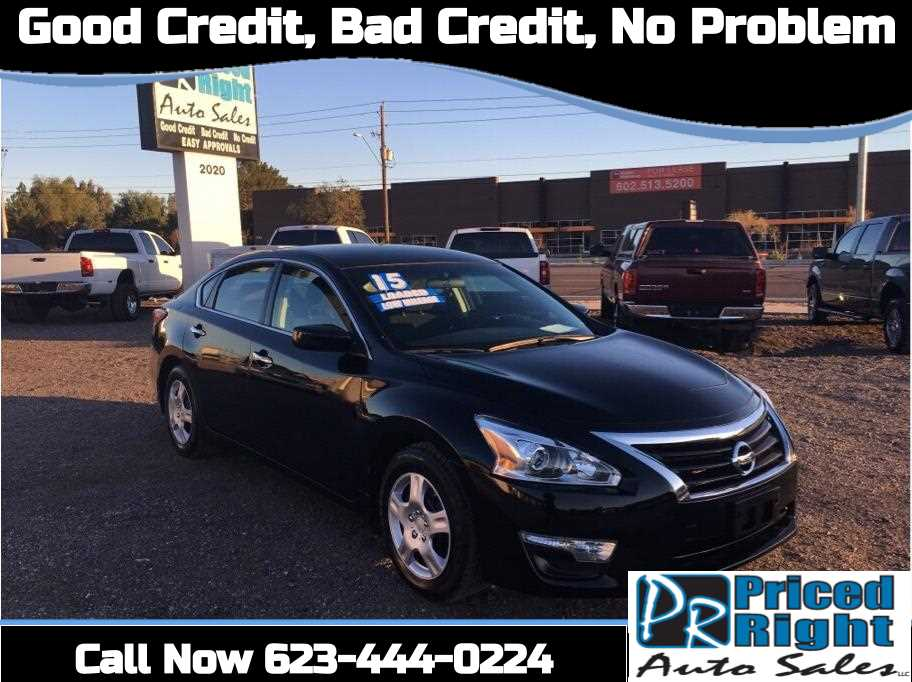 2015 Nissan Altima from Priced Right Auto Sales