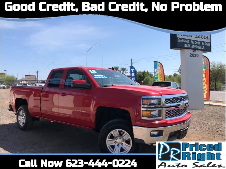 2015 Chevrolet Silverado 1500 Double Cab from Priced Right Auto Sales
