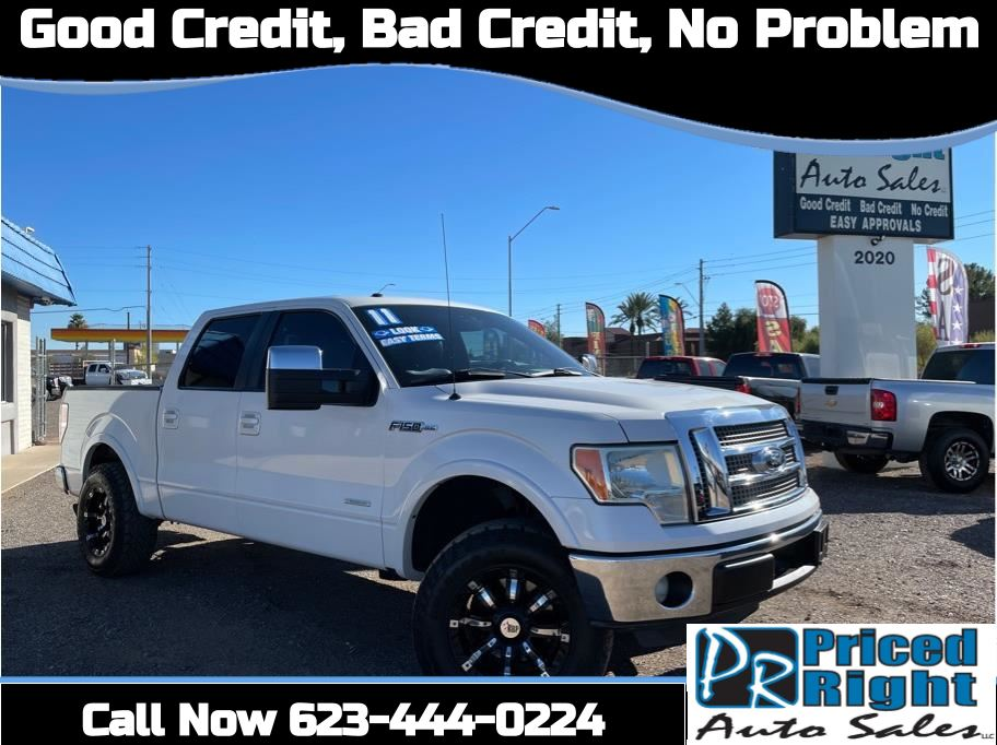 2011 Ford F150 SuperCrew Cab from Priced Right Auto Sales